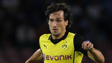 Mats Hummels: Ruled out until the New Year