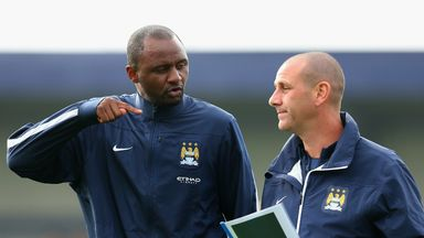 Patrick Vieira: Is calling for an overhaul of the English coaching system