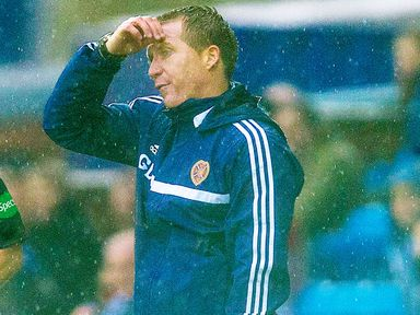 Gary Locke: Hearts manager wants a reaction after defeat
