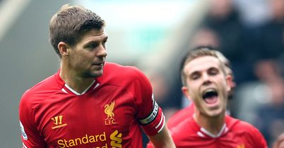 Gerrard: Set to return for Liverpool