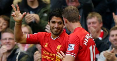 Luis Suarez: In sensational form for Liverpool