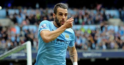 Alvaro Negredo levelled for City after Everton had taken the lead