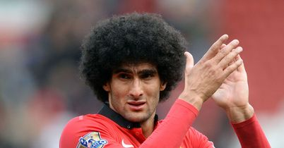 Marouane Fellaini: Struggling with wrist injury