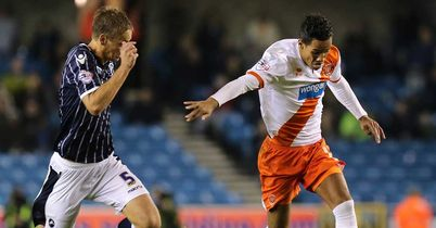 Tom Ince: Scored the opener for Blackpool