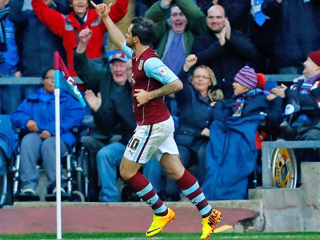 Danny Ings: On the mark again for Burnley