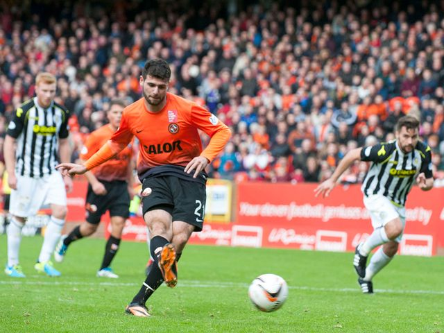 Nadir Ciftci scores from the penalty spot