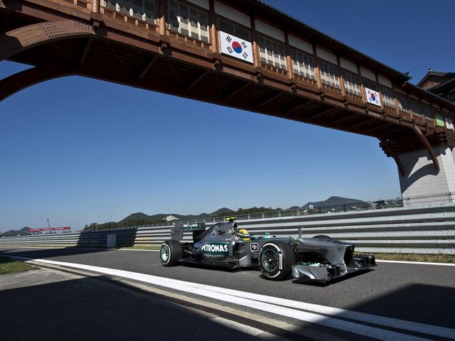 Lewis Hamilton: Good start to Korean Grand Prix weekend