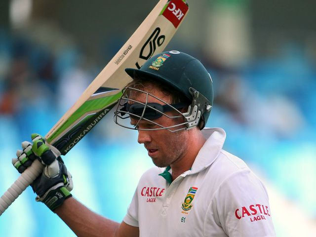 AB de Villiers made 164 in South Africa's first innings