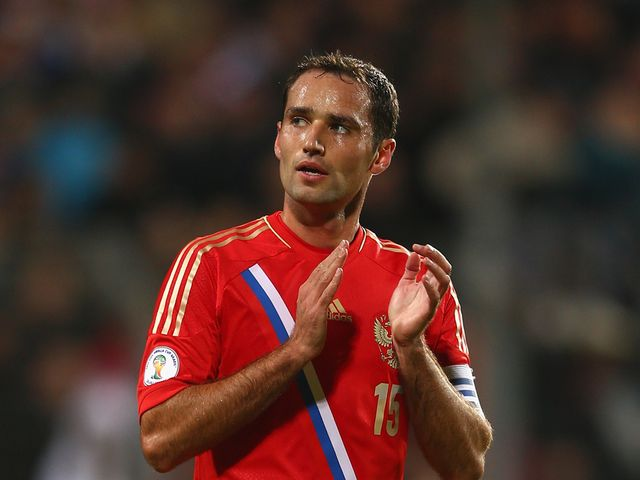 Roman Shirokov: Scored for Russia