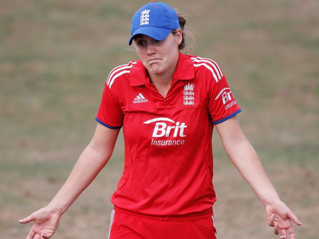 Natalie Sciver: Top scored for England with 36