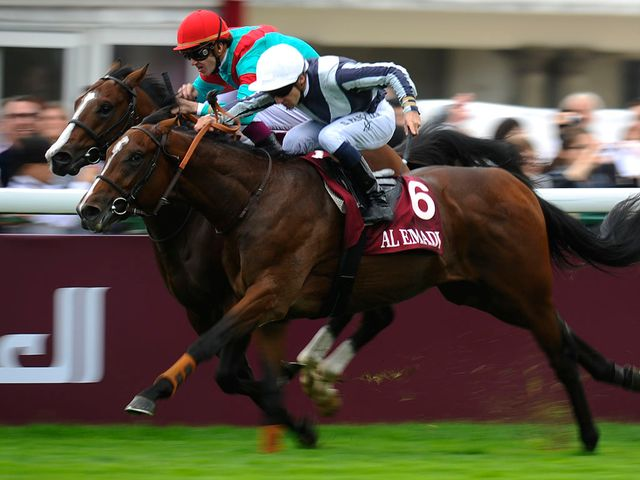 Karakontie battles to victory at Longchamp