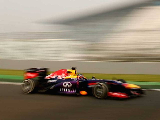 Sebastian Vettel: Quickest in second practice