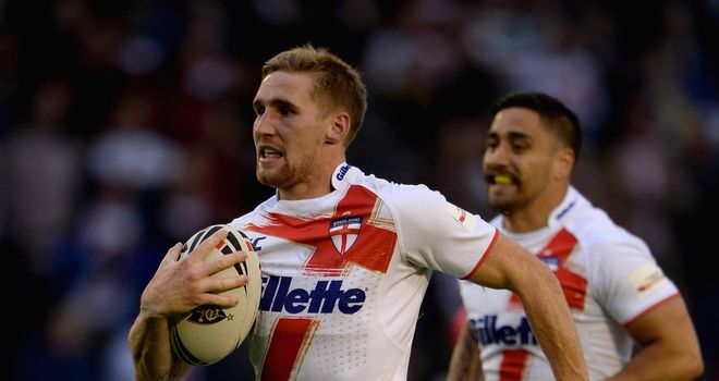Sam Tomkins: Believes England have the potential to do 'something special' in the World Cup
