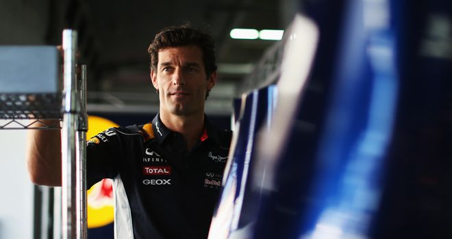 Mark Webber: Handed a grid penalty for Korean GP