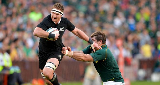 Kieran Read: Was named man of the match in New Zealand victory