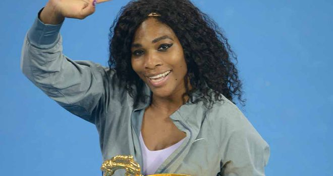 Serena Williams: 10 titles this year and a 73-4 record