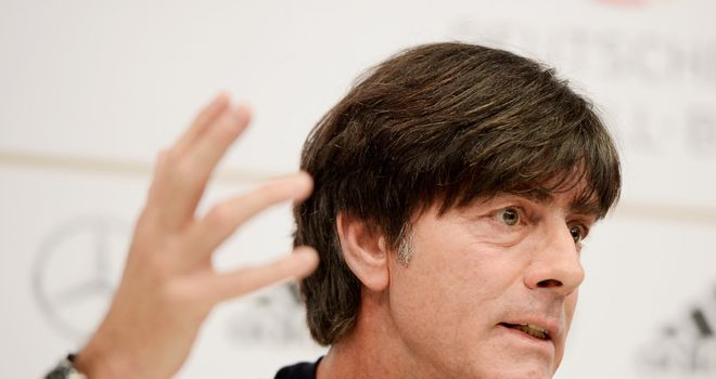 Joachim Low: His Germany side have already qualified