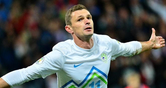 Milivoje Novakovi: Struck a hat-trick for the home side
