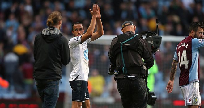 Townsend: The winger lived up to the hype at Villa Park on Sunday