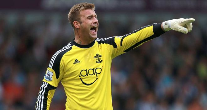 Artur Boruc: Southampton goalkeeper was replaced by Wojciech Szczesny for Poland's game against England