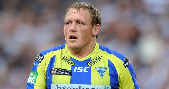 Ben Westwood: Marked his Warrington testimonial year last season