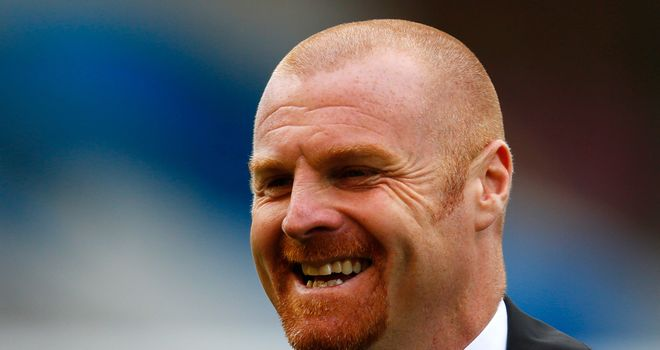 Sean Dyche: Content to remain top of the league