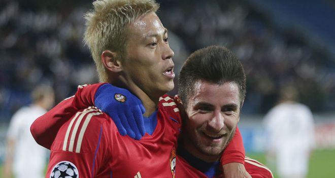 Keisuke Honda: Japan international helped CSKA Moscow overcome Viktoria Plzen