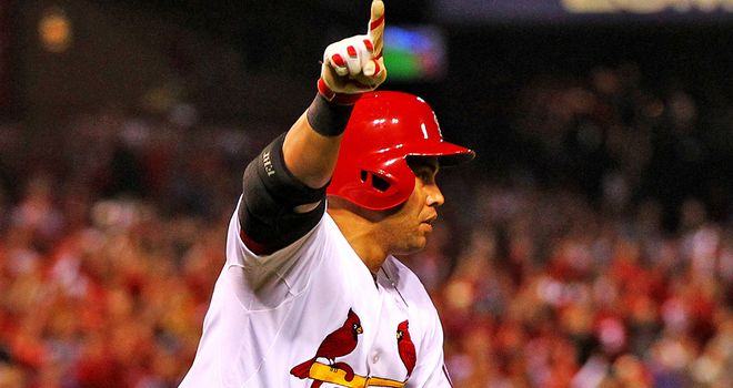 Carlos Beltran inspired the Cardinals to victory