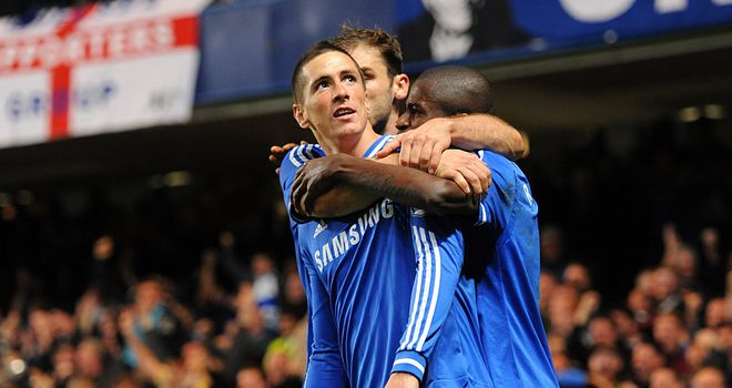 Fernando Torres: Netted a last-gasp winner for Chelsea