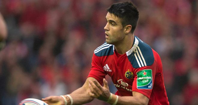Conor Murray: Cited for an alleged strike on Glasgow's Niko Matawalu