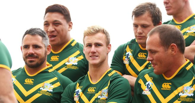 Australia's Daly Cherry-Evans (centre) hoping to have a chance to impress