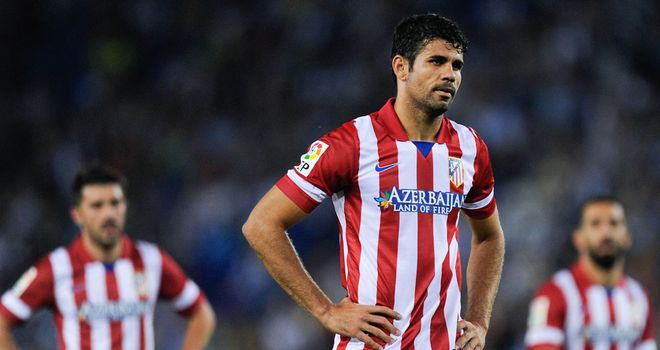 Diego Costa: At the double for Atleti