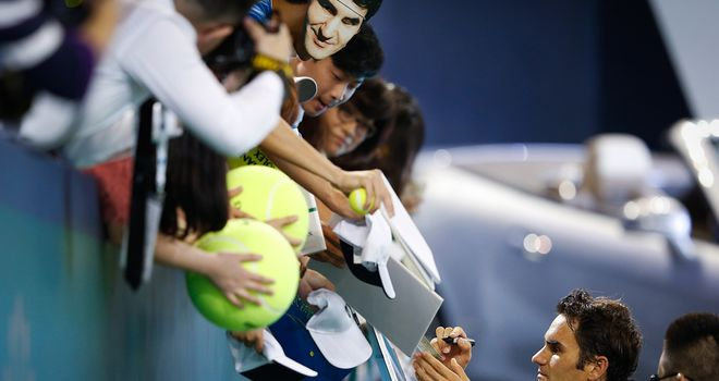 Roger Federer: Out in Shanghai and struggling to reach the ATP Tour World Finals.