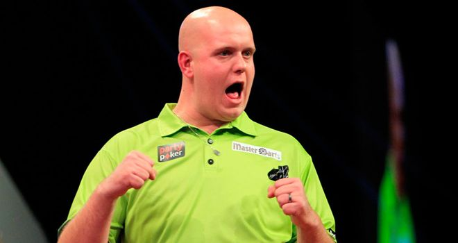 Michael van Gerwen: Knocked out practice partner Vincent van der Voort