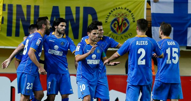 Celebrations for Getafe.