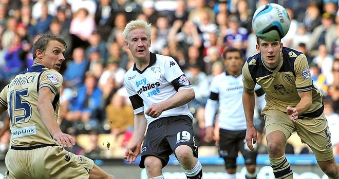 Will Hughes: Derby midfielder has a groin injury