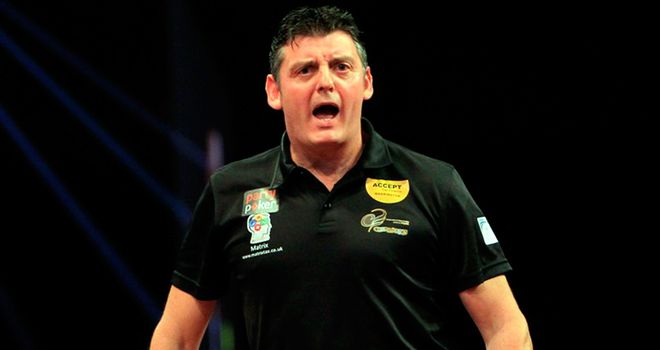 Justin Pipe faces Phil Taylor in the semis