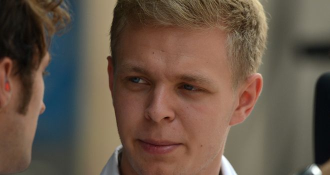 Kevin Magnussen: Preparing to make the jump up to the top level