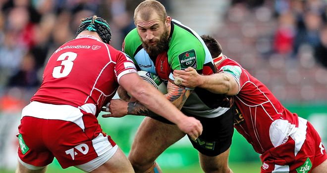 Samson Lee (in action at the Stoop): Two-match ban
