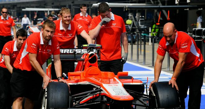 Marussia: Finally have their F1 commercial deal in place