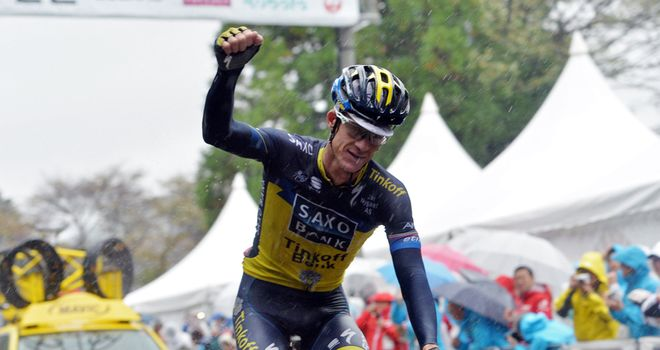 Michael Rogers tested positive at the Japan Cup, which he won