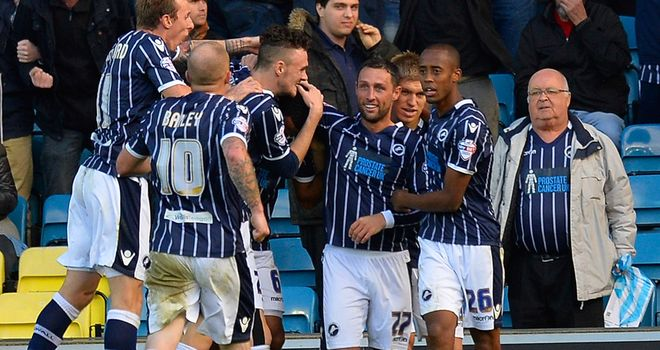 Millwall held QPR to a 2-2 draw at The Den