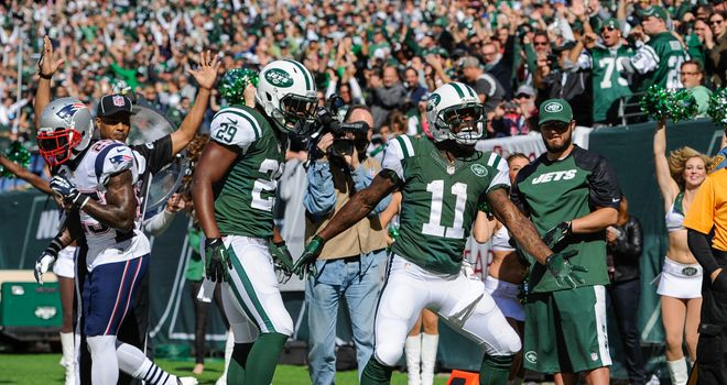 The New York Jets ended their losing run against the New England Patriots on Sunday
