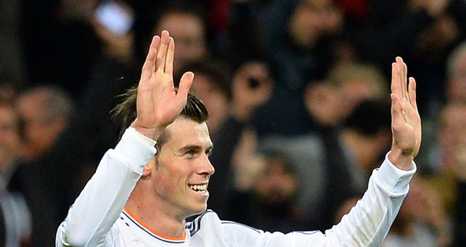 Gareth Bale: Scored twice for Real Madrid