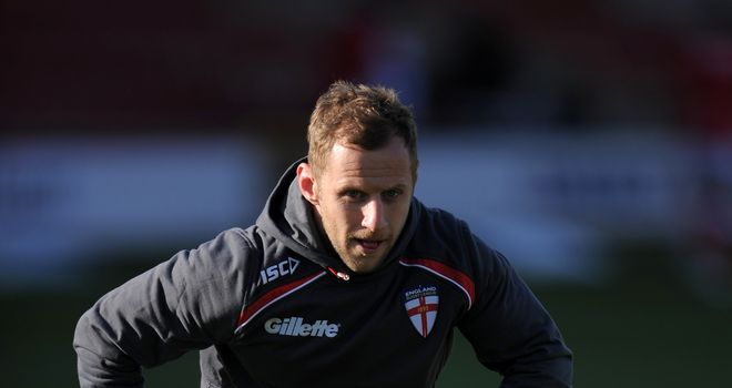 Rob Burrow: Part of England's squad for the 2013 World Cup in England and Wales