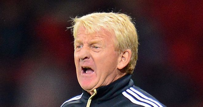 Gordon Strachan: Scotland coach planning to make changes