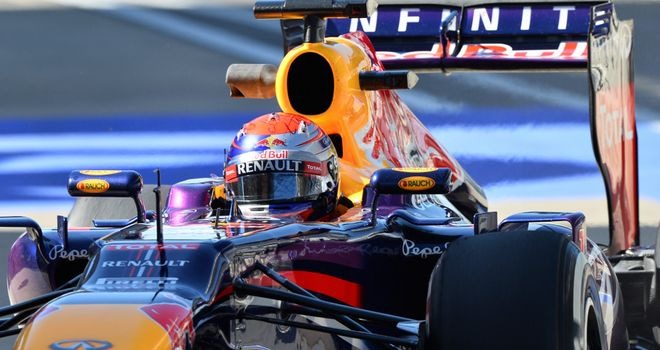 Sebastian Vettel: Fastest in final practice