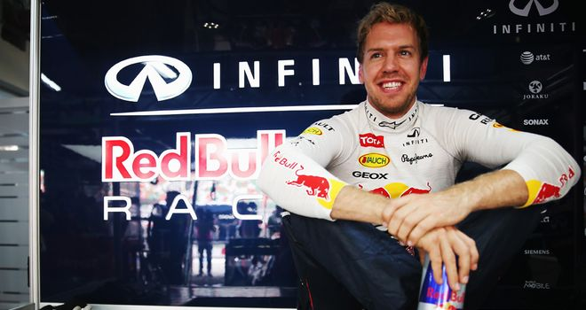 Sebastian Vettel: A perfect start to his big weekend on the timesheet