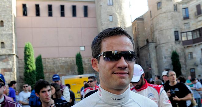 Sebastien Ogier: Out in front at the Rally of Spain