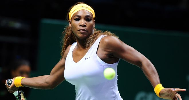 Serena Williams: Two wins from two matches in Istanbul
